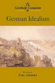 Cambridge Companion to German Idealism icon and link