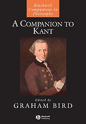 Companion to Kant book cover