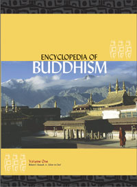 encyclopedia of buddhism book cover