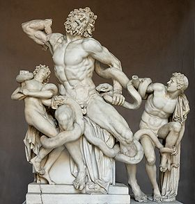 sculpture of Laocoon image