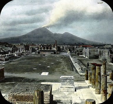 Pompeii image from Brooklyn Museum