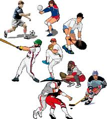 Image of men and women playing different sports