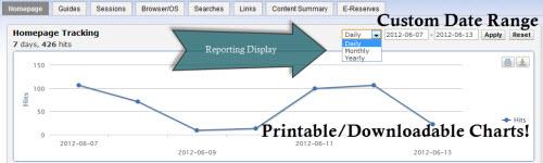 CampusGuides Statistics
