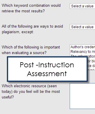 LibAnalytics Post Instruction
