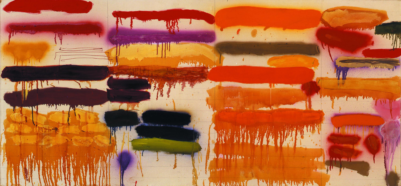 Image of Summer Orange by Joan Snyder