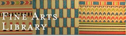 Harvard Fine Arts Library banner