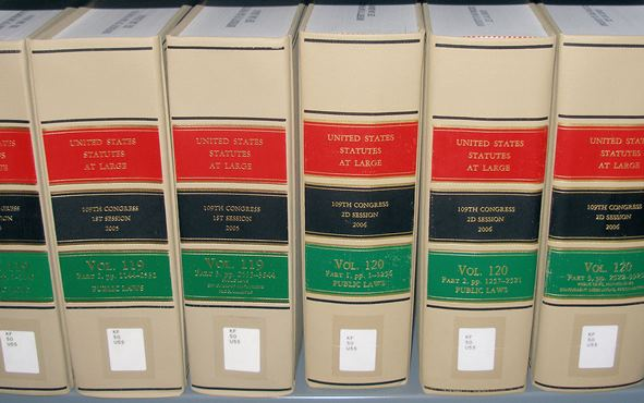Statutes at large, multiple volumes