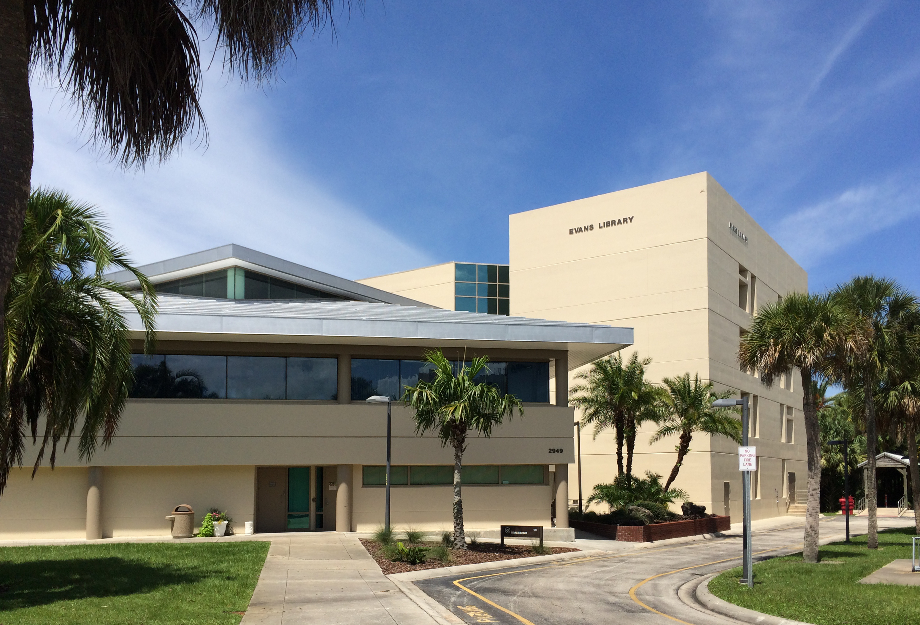 Evans Library at Florida Tech
