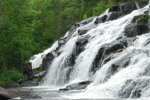 photo of waterfalls