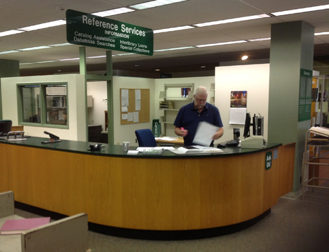 Reference Services Desk
