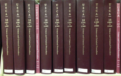 Volumes of the U.S. Code Annotated (U.S.C.A.), published by West.