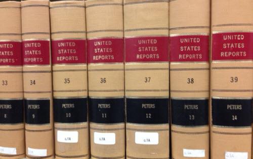 Volumes of U.S. Reports.