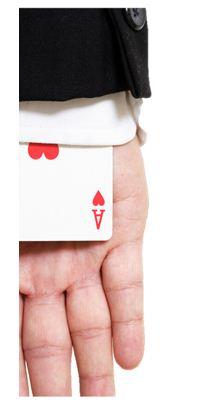 image - card up sleeve
