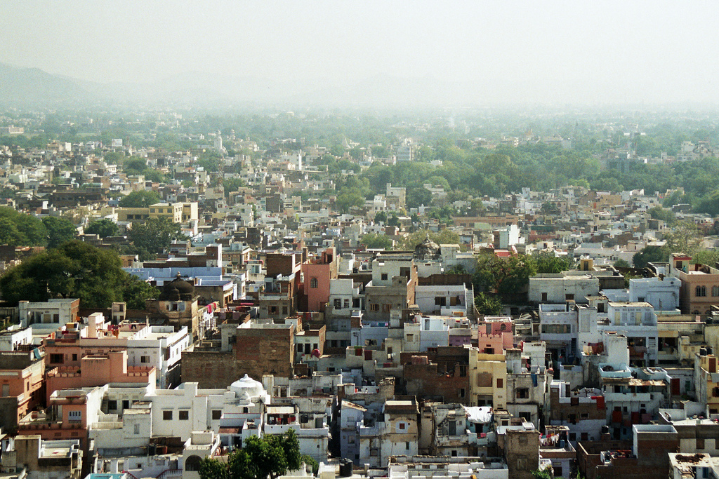 photo of houses in India