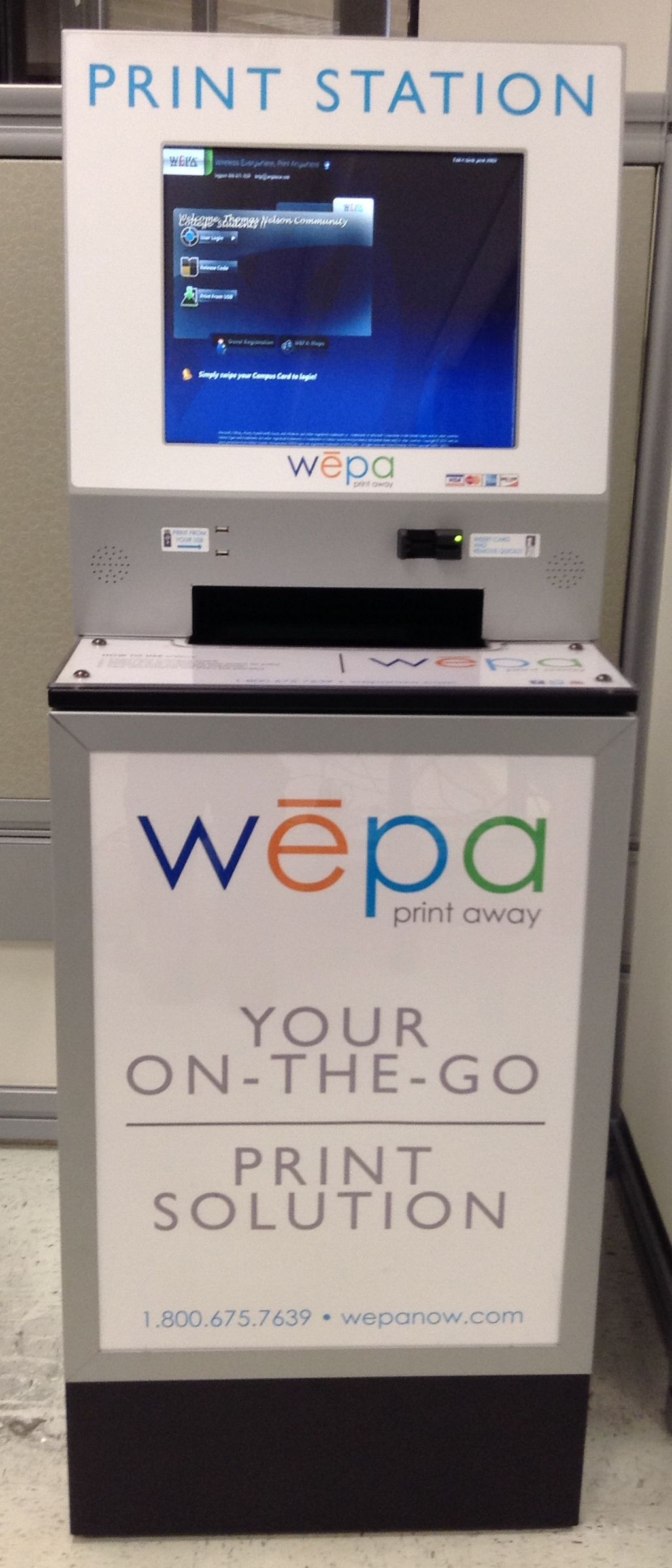 WEPA print station