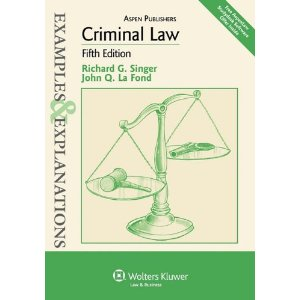 Criminal Law: Examples and Explanations