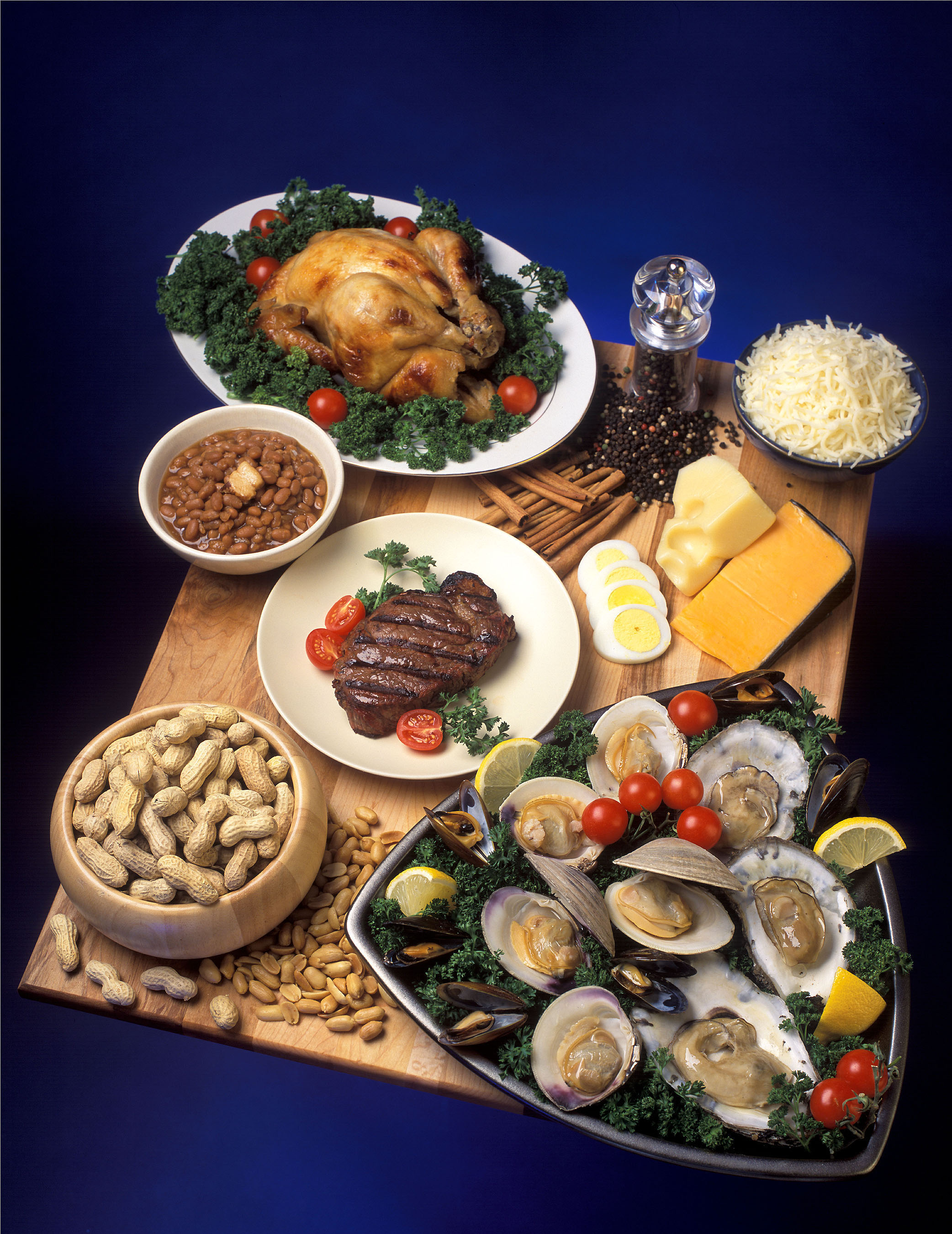 foods high in zinc image