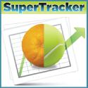 super tracker image half orange half tennis ball