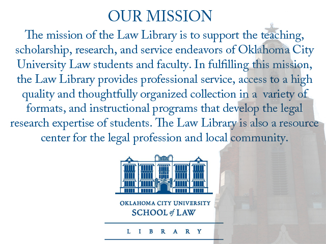 Law Library mission