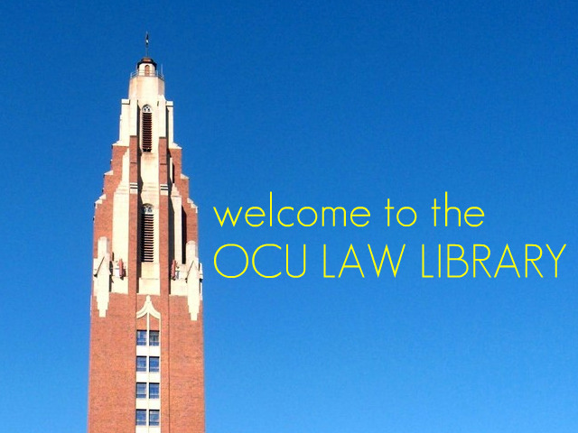 Welcome to the OCU Law Library