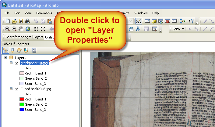 Double Click the graph/grid to open Layer Properties