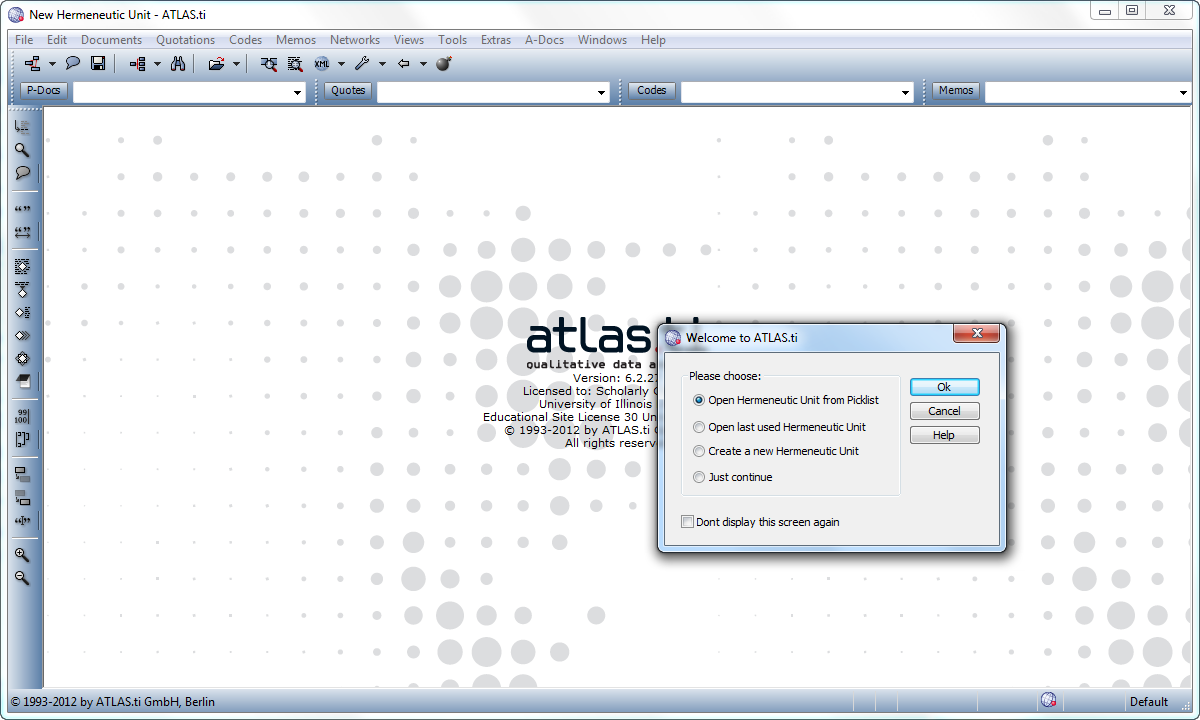 Atlas interface