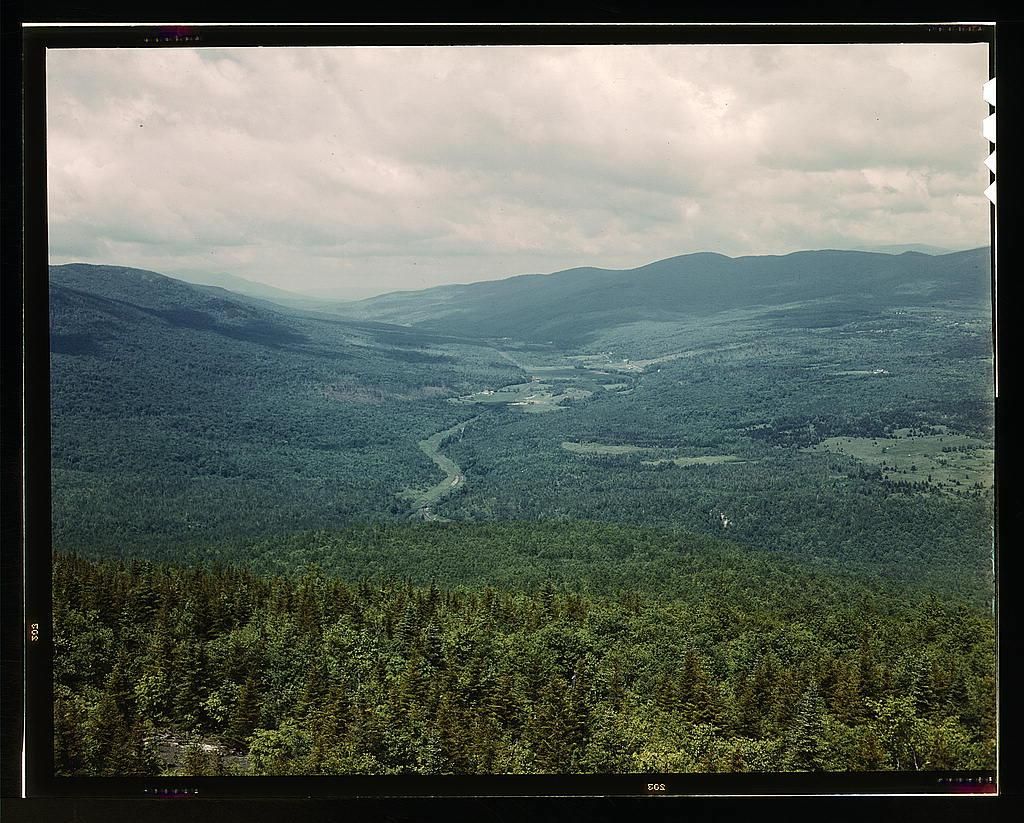 White Mountains National Forest, New Hampshire (1943)