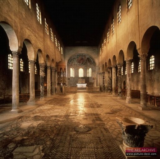 Interior, cathedral of Grado