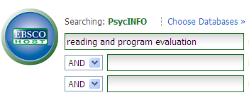 Psycinfo Search