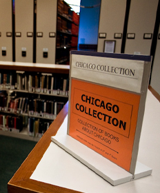 Chicago Collection, 1st floor LPC Library