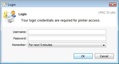 Guest Printing Login