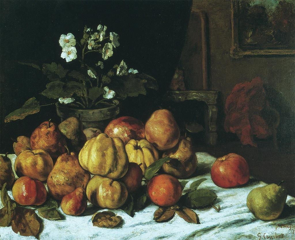 Courbet Still Life
