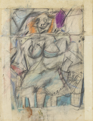 Seated Woman Willem de Kooning