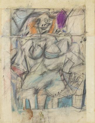 Seated Woman Willem de Kooning