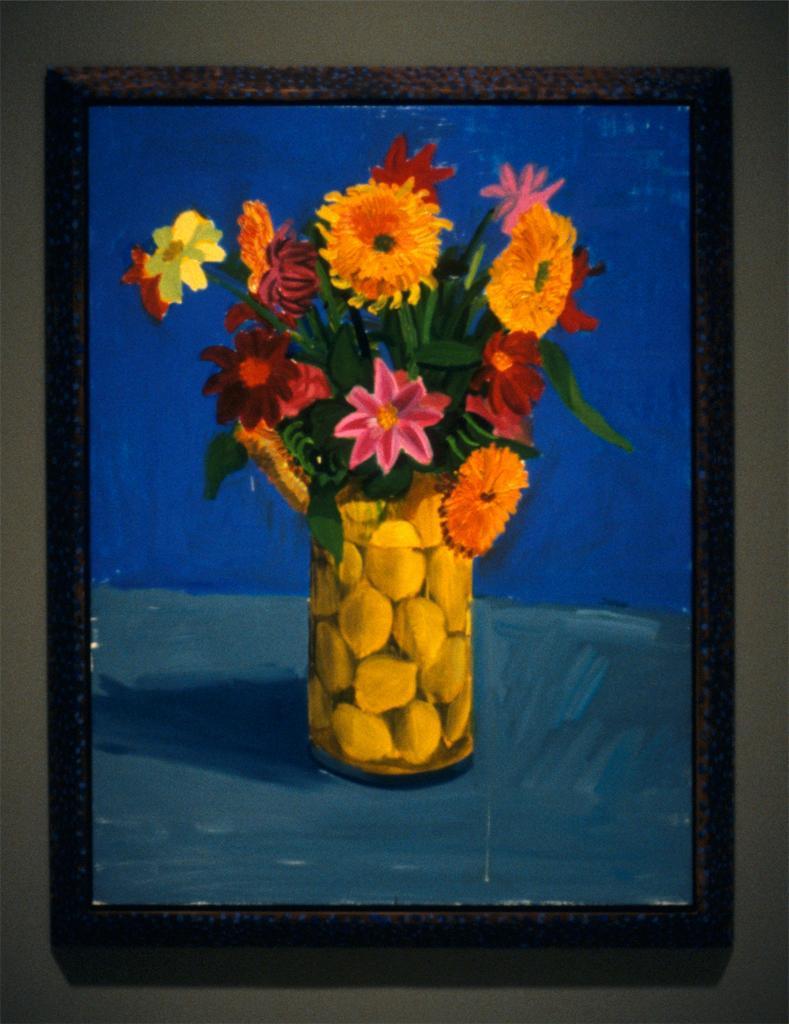 Flowers sent as a gift - David Hockney