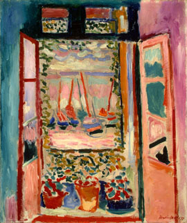 Henri Matisse, Open Window, Collioure, 1905, National Gallery of Art, Washington, Collection of Mr. and Mrs. John Hay Whitney 1998.74.7