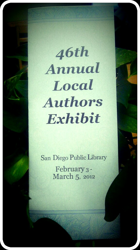 Local author exhibit image