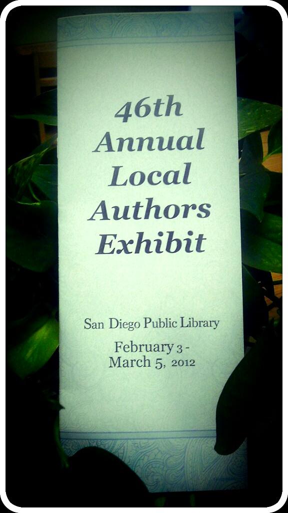 Local author exhibit image