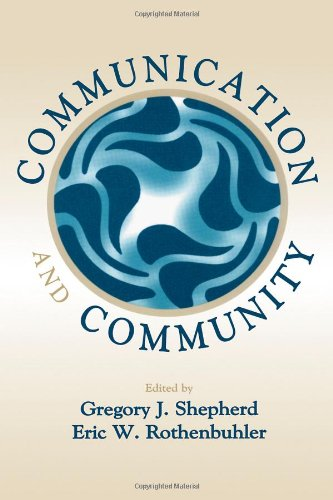 Communication and Community book cover