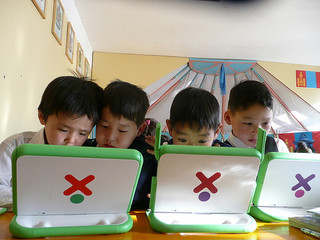 One Laptop Per Child - Mongolia