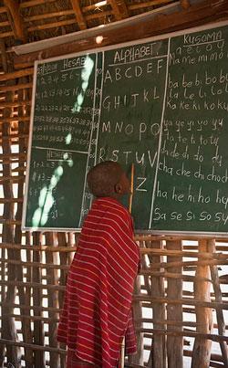 School Days Maasai Style