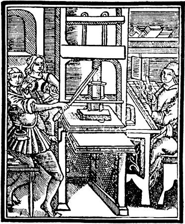 Image: Gutenberg Press