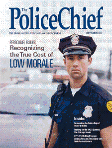 Magazine Cover: The Police Chief