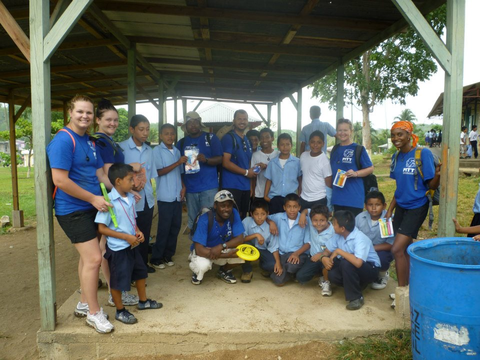 PCC Students in Belize, 2012.