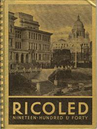 1940 Rhode Island College Yearbook.
