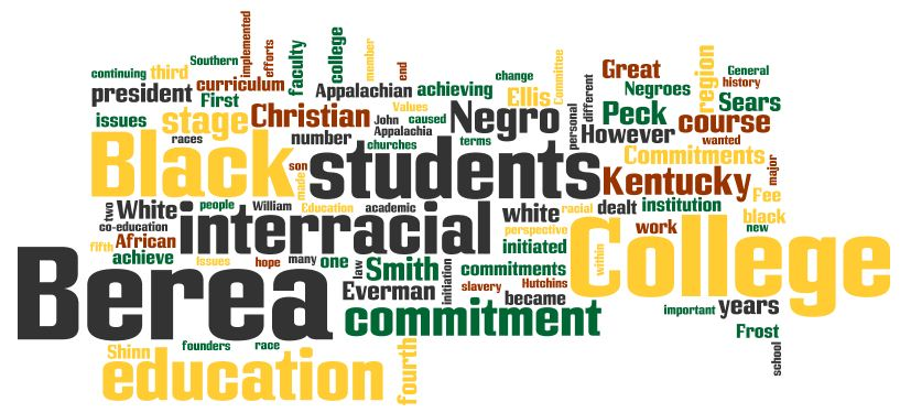 Interracial Education Wordle