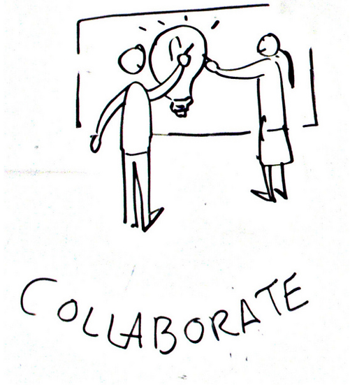 Collaborate Image by Johnny Goldstein