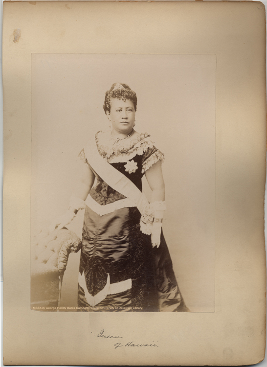 Queen Liliuokalani  of Hawaii, 	George Handy Bates Samoan Papers
