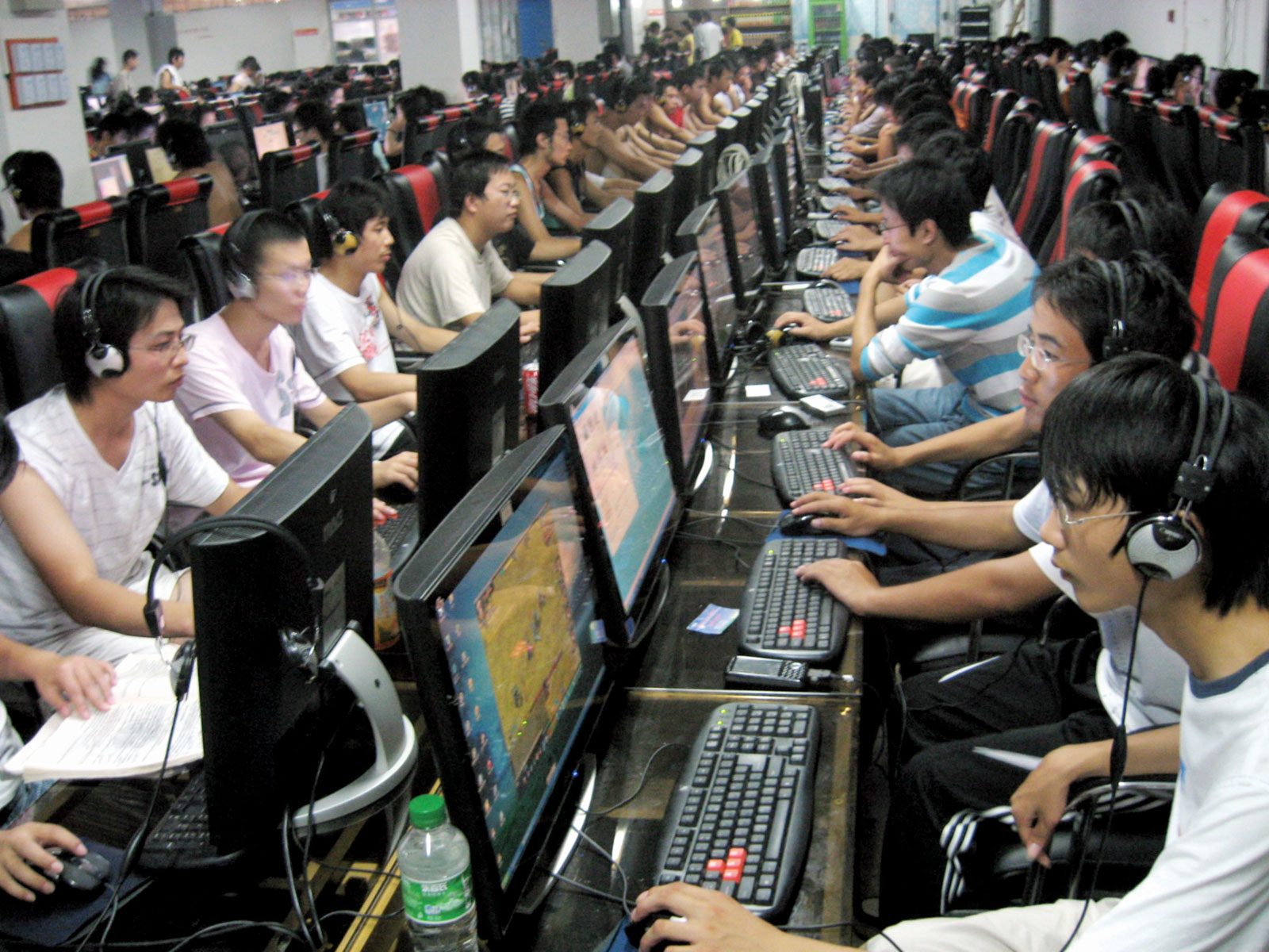 internet cafe in Wuhu china