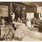 Sewing for a production, c. 1930s / by Sam Hood, State Library of New South Wales collection